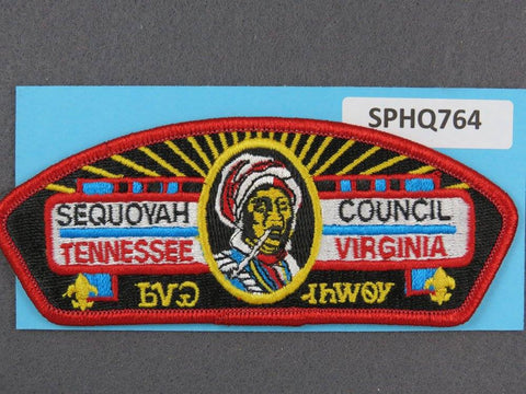 Sequoyah Council Tennessee Virginia CSP Red Border