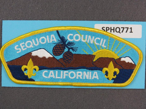 Sequoia Council California CSP Yellow Border