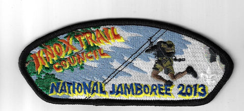Knox Trail Council JSP National Jamboree 2013 BLK Bdr. [PAT-668]