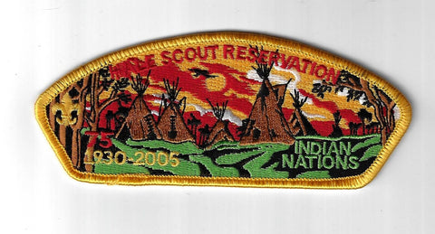 Indian Nations SAP SA-30 Hale Scout Reservation 1930-2005 YEL Bdr. (CSI $15-20)