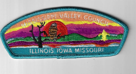 Mississippi Valley Council SAP S-1 Iowa-Illinois-Missouri TBL Bdr. (CSI $5-7) Qu