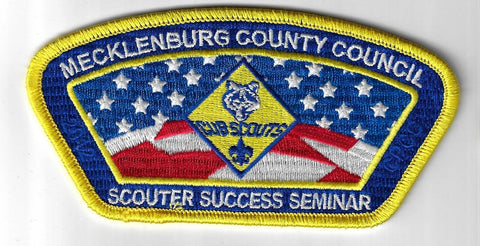 Mecklenburg County Council SAP SA-44 2012 Scouter Success Seminar YEL Bdr. (CSI