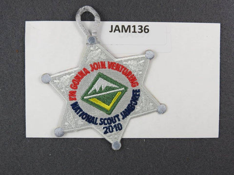 2010 National Scout Jamboree I'm Gonna Join Venturing Silver Border