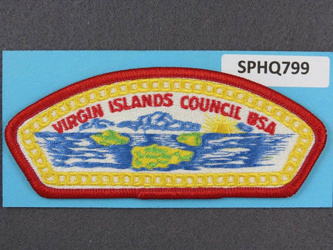 Virgin Islands  CSP Red Border [SPHQ799]##