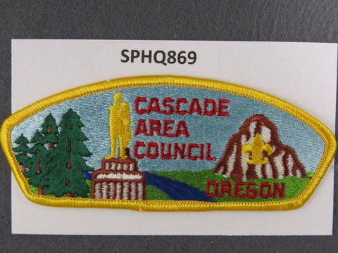 Cascade Pacific  Oregon Washington CSP Yellow Border [SPHQ869]##