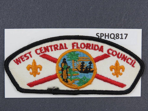 West Central Florida Council CSP Black Border