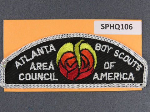 Atlanta Area Council CSP White Border - Scout Patch HQ