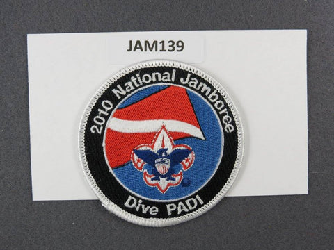 2010 National Scout Jamboree Dive PAD1 White Border