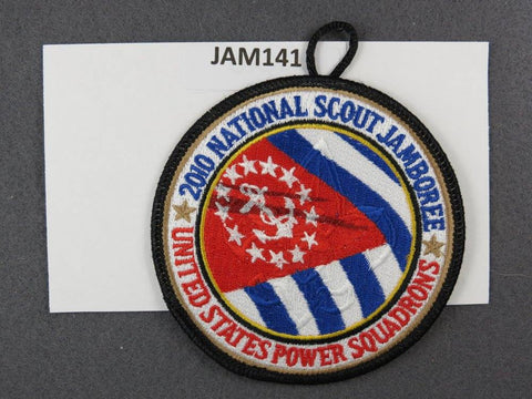 2010 National Scout Jamboree NASA United States Power Sqadrons Black Border [JAM141]^^