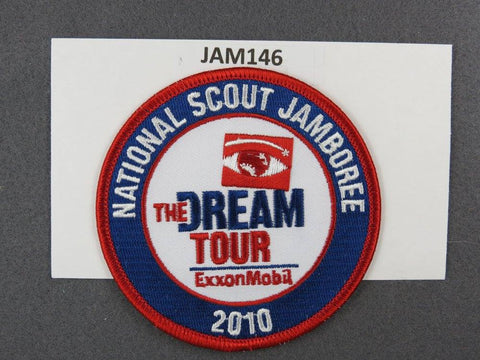 2010 National Scout Jamboree The Dream Tour Red Border [JAM146]^^