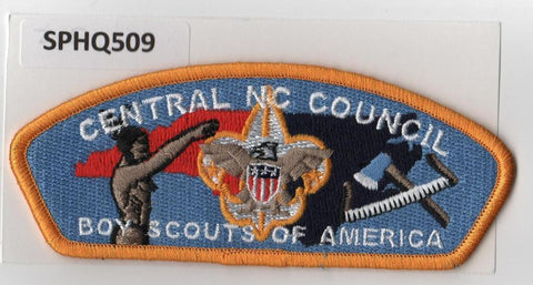 Central North Carolina  CSP Gold Border [SPHQ509]##