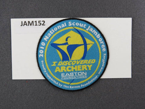 2010 National Scout Jamboree I Discovered Archery Black Border [JAM152]^^