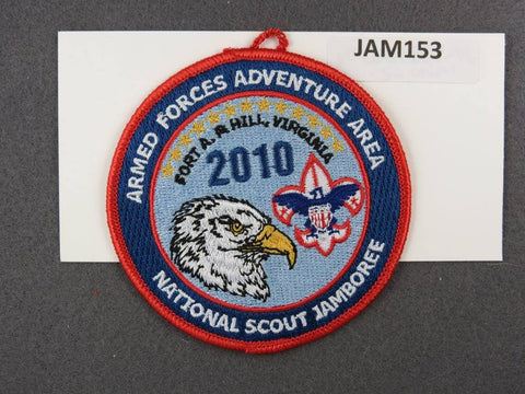 2010 National Scout Jamboree Armed Forces Adventure Area Red Border [JAM153]^^