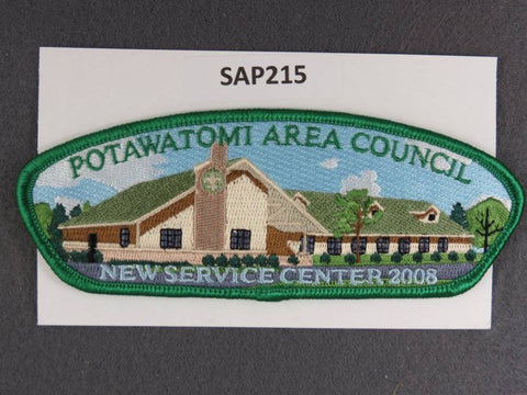 Potawatomi Area Council CSP 2008 New Service Center Green Border