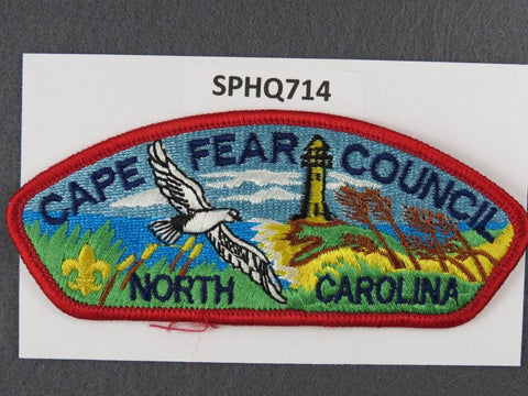 Cape Fear  North Carolina CSP Red Border [SPHQ714]##