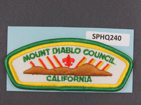 Mount Diablo  California CSP Green Border [SPHQ240]##