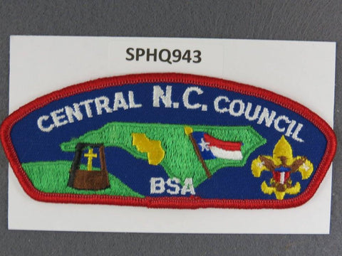 Central North Carolina  CSP Red Border [SPHQ943]##