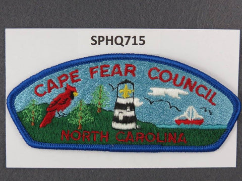 Cape Fear  North Carolina CSP Blue Border [SPHQ715]##