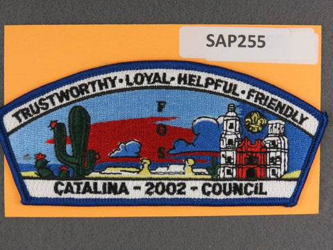 Catalina  2002 Friends of Scouting FOS Blue Border [SAP255]>>