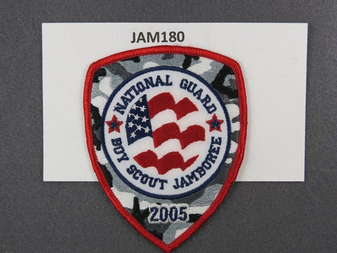 2005 National Scout Jamboree National Guard Red Border [JAM180]^^