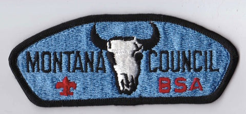 Montana Council MT Black Border Plastic Backing FDL CSP ## CSP854