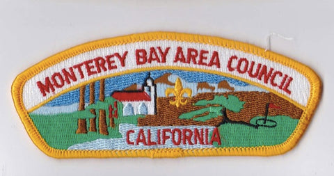 Monterey Bay Area Council CA Yellow Border Plastic Backing FDL CSP ## CSP859