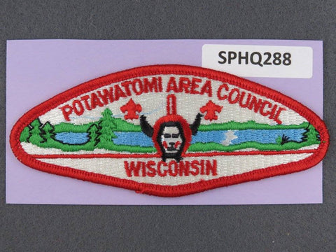 Potawatomi Area  CSP Red Border [SPHQ288]##