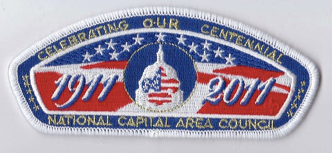 National Capital Area Council DC/MD/VA White Border Plastic Backing FDL CSP ## CSP899