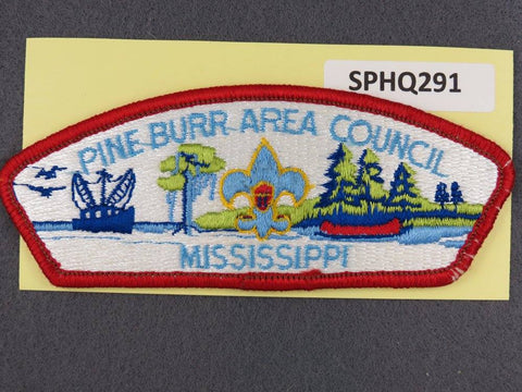 Pine Burr Area Council Mississippi CSP Red Border