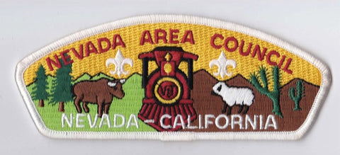 Nevada Area Council NV & CA White Border Scout Stuff Backing FDL CSP ## CSP914