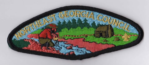 Northeast Georgia Council GA Black Border Plastic Backing FDL CSP ## CSP922
