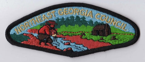 Northeast Georgia Council Black Black Border Plastic Backing Pre-FDL CSP ## CSP923