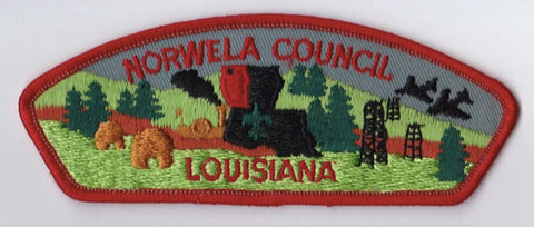 Norwela Council LA Red Border Plastic Backing FDL CSP ## CSP956