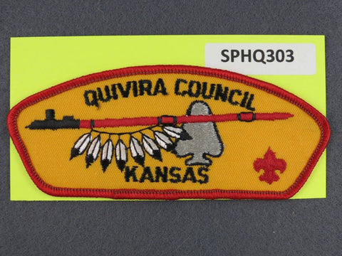 Quivira  Kansas CSP Red Border [SPHQ303]##