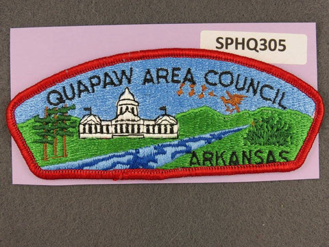 Quapaw Area  Arkansas CSP Red Border [SPHQ305]##