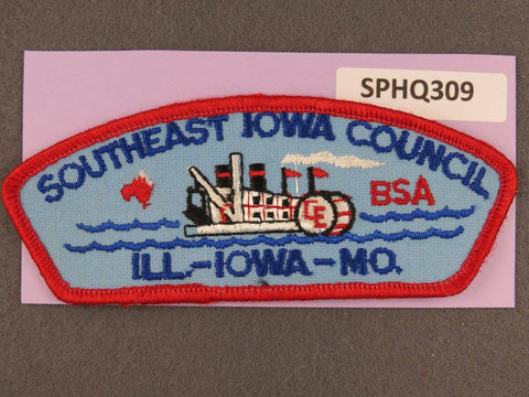 Southeast Iowa  Illinois Iowa Missouri CSP Red Border [SPHQ309]##