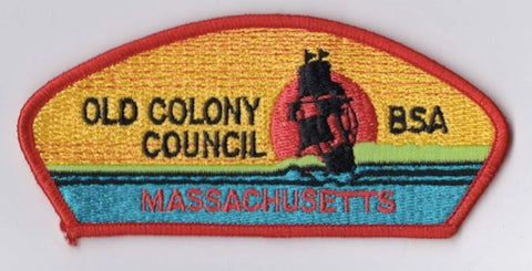 Old Colony Council MA Orange Border BSA 2010 Backing BSA CSP ## CSP982