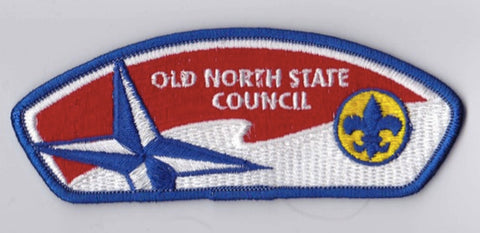 Old North State Council NC Blue Border Scout Stuff Backing FDL CSP ## CSP993