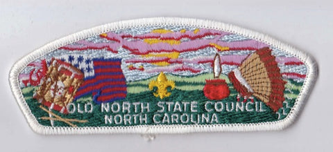 Old North State Council NC White Border Plastic Backing FDL CSP ## CSP995