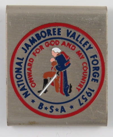 1957 National Jamboree Valley Forge Commemorative Belt Loop [C13]