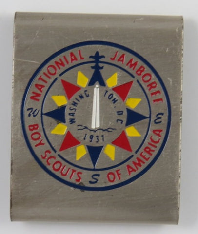 1937 National Jamboree Boy Scouts Of America Washington DC Commemorative Belt Loop [C17]