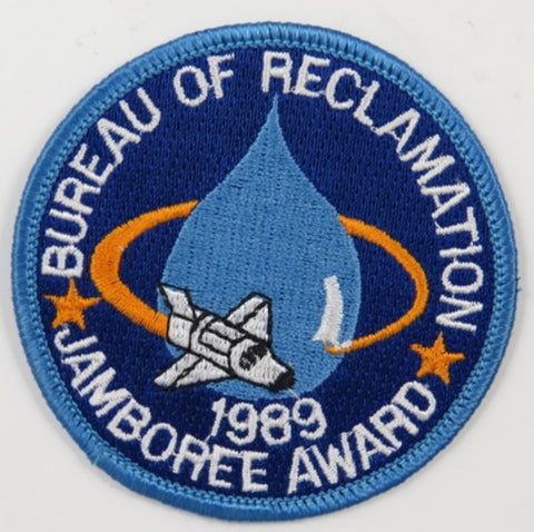 1989 Jamboree Award Bureau Of Reclamation BBL Bdr.  [C-183]