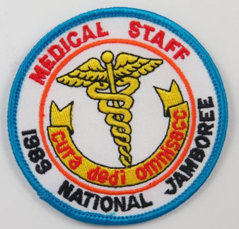 1989 National Scout Jamboree Medical Staff BBL Bdr. [C-211]