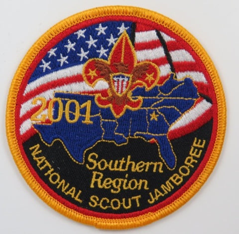 2001 National Scout Jamboree Southern Region YEL Bdr. [C-242]