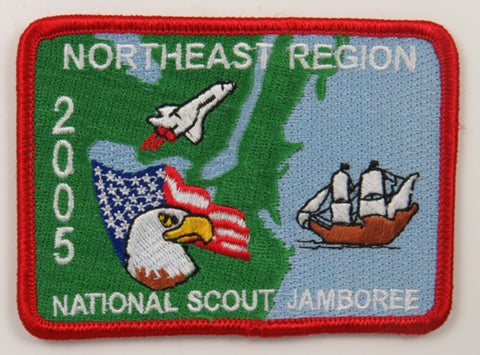 2005 National Scout Jamboree Northeast Region RED Bdr. [C-246]