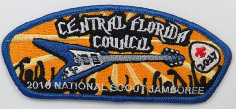 2010 National Scout Jamboree 2037 Central Florida Council CSP BLU Bdr. [C-265]