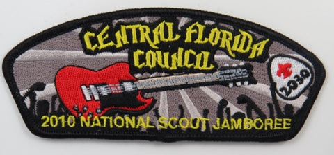 2010 National Scout Jamboree 2030 Central Florida Council CSP BLK Bdr. [C-266]