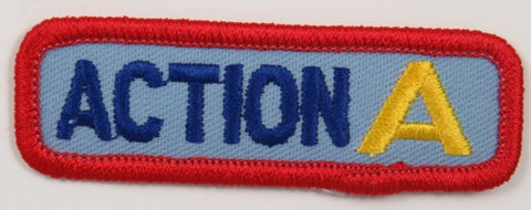1989 National Jamboree Action Center A Segment RED Bdr. [C-274]