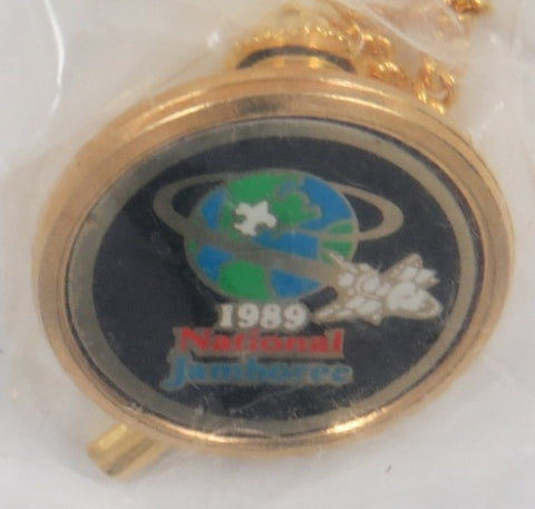 1989 National Jamboree Tie Tack [C-288]