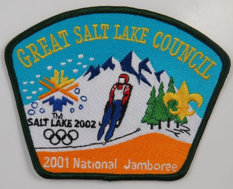 2001 National Jamboree Great Salt Lake Council BLK Bdr. [C-293]